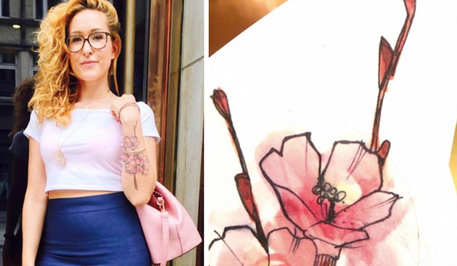 Okan Akgoel Berlin Tattoo als pures Design eblog red concierge Gerry