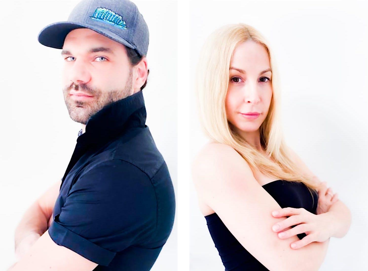 Hochzeit Mike Cees Michelle Monballijn Heirat Standesamt Ehe Eheleute geheiratet Model Schauspieler eblog red